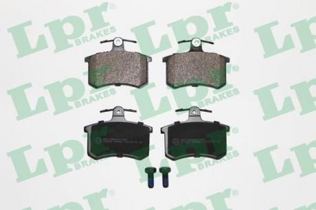 Тормозные колодки дисковые 05P440