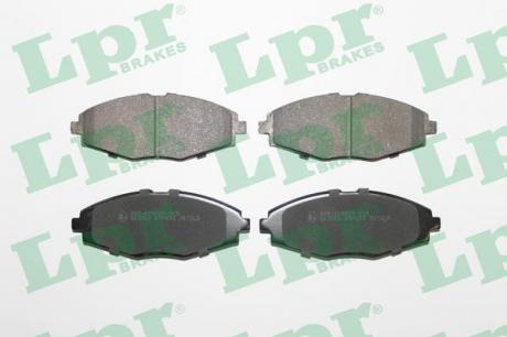 """Колодки тормозные передние 13"""" Daewoo Lanos 1 5L Sens Matiz Nexia LPR 05P693"""