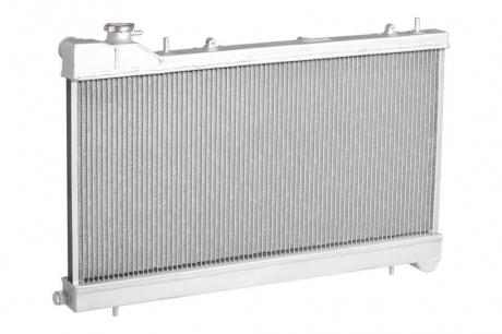 Радиатор охлаждения Forester S11 (02-) 2.0і / 2.5і (бачки из аллюминия) (С горловиной) (LRc 221SA) Luzar
