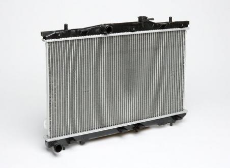 Радиатор охлаждения Elantra 1.6/1.8/2.0 (00-) МКПП (алюм) 673*378*16 (LRc HUEL00150) Luzar