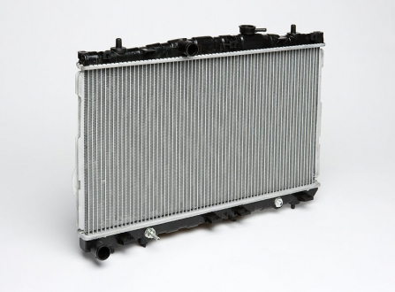 Радиатор охлаждения Elantra 1.6/1.8/2.0 (00-) АКПП (660*375*16) (LRc HUEl00210) (25310-2D010) Luzar
