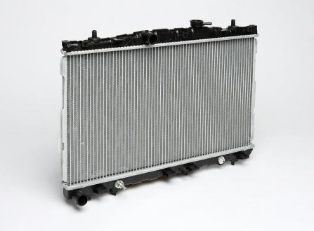 Радиатор охлаждения Elantra 1.6/1.8/2.0 (01-) АКПП (алюм) (660*375*18) (LRc HUEl002D2) (25310-2D110) Luzar