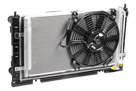 Радиатор охлаждения 2170 (+рад. кондиц+вентиляторы)(А/С Panasonіc) Luzar LRK 01272
