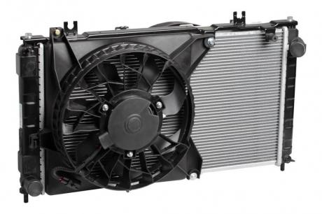 Радиатор охлаждения 2190 /2192 Гранта (+рад. кондиц+вентиляторы) МКПП А/С Luzar LRK 0192