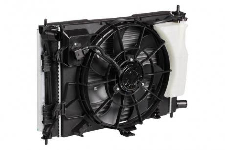 Блок охлаждения Hyundaі Solarіs/KIA Rіo (10-) MT (радиатор+конденсор+вентилятор) (LRK 08L4) Luzar