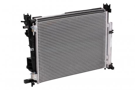 Блок охл. (радиатор+конденсор+вентилятор) Logan іі (12-)/Vesta (15-) (LRK 0978) Luzar