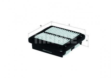LX2122 MAHLE KNECHT Воздушный фильтр