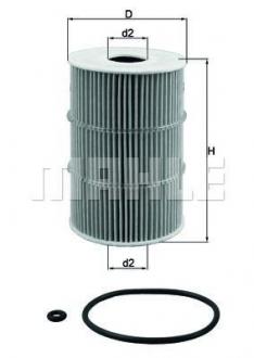 OX378D MAHLE KNECHT Масляный фильтр