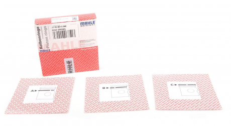 Кольца поршневые OPEL / RENAULT 84.0 (2.5 / 2/2) M9R740 / M9R780 (пр-во Mahle) 021 RS 00113 0N0