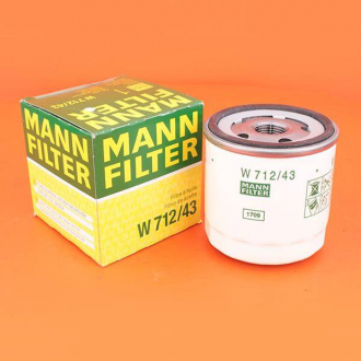 Фильтр масляный MANN Chery A13 (ZAZ Forza) 480-1012010