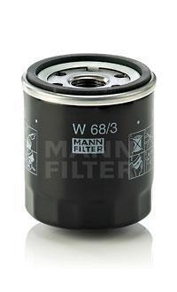 Фильтр масляный W 68/3
