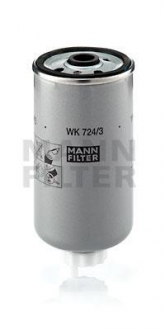 WK724/3 MANN Топливный фильтр