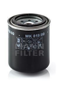 WK818/80 MANN Топливный фильтр
