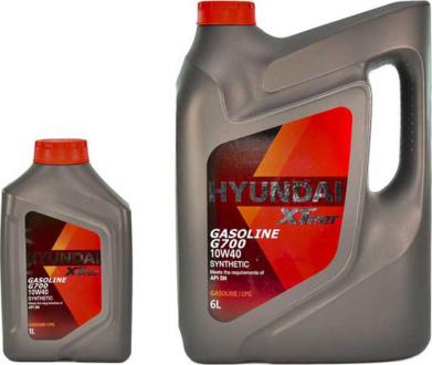 Масло моторное Hyundai / Kia XTeer Gasoline G700 10W-40 (1 л) 1011009