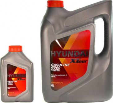 Масло моторное Hyundai / Kia XTeer Gasoline G500 10W-40 (1 л) 1011044