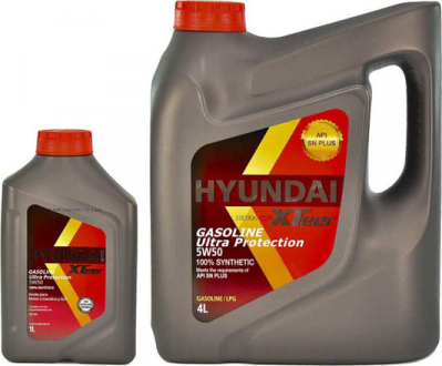 Масло моторное Hyundai / Kia XTeer Gasoline Ultra Protection SN 5W-50 (1 л) 1011129