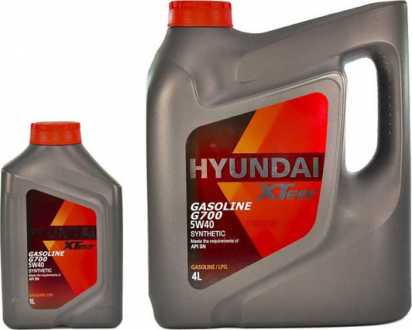 Масло моторное Hyundai / Kia XTeer Gasoline G700 5W-40 (1 л) 1011136