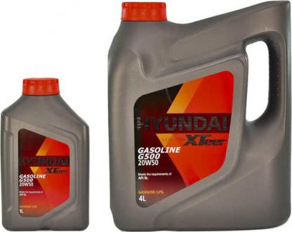 Масло моторное Hyundai / Kia XTeer Gasoline G500 20W-50 (1 л) 1011159