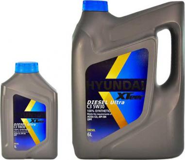 Масло моторное Hyundai / Kia XTeer Diesel Ultra C3 5W-30 (1 л) 1011224