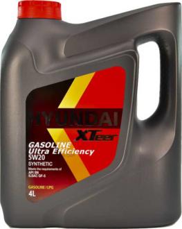 Масло моторное Hyundai / Kia XTeer Gasoline Ultra Efficiency 5W-20 (4 л) 1041001