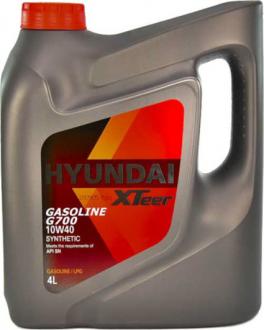 Масло моторное Hyundai / Kia XTeer Gasoline G700 10W-40 (4 л) 1041014