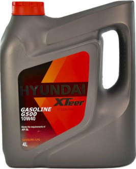 Масло моторное Hyundai / Kia XTeer Gasoline G500 10W-40 (4 л) 1041044
