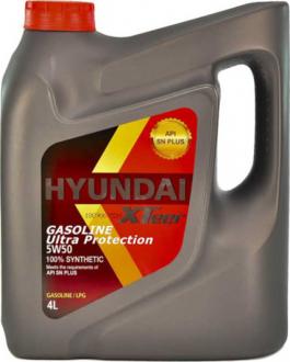 Масло моторное Hyundai / Kia XTeer Gasoline Ultra Protection SN 5W-50 (4 л) 1041129
