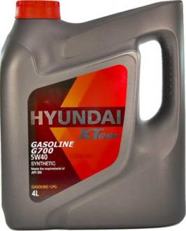 Масло моторное Hyundai / Kia XTeer Gasoline G700 5W-40 (4 л) 1041136
