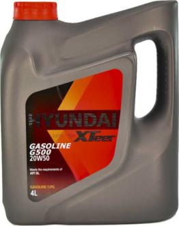 Масло моторное Hyundai / Kia XTeer Gasoline G500 20W-50 (4 л) 1041159
