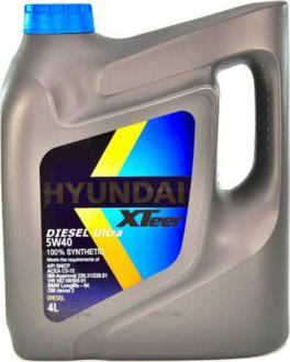 Масло моторное Hyundai / Kia XTeer Diesel Ultra 5W-40 (4 л) 1041223