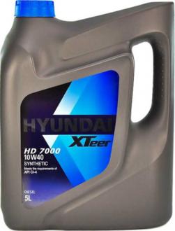 Масло моторное Hyundai / Kia XTeer HD 7000 10W-40 (5 л) 1051237