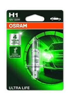 Лампа галогенная (OSRAM) Ultra Life 55W H1 64150ULT-01B