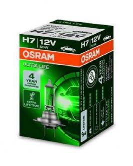 Лампа галогенная (OSRAM) Ultra Life 55W H7 64210ULT