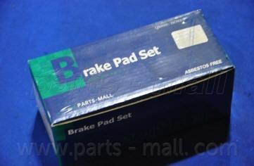 Колодки тормозные дисковые PMC PKA-021