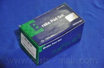 Тормозные колодки дисковые PKA-029