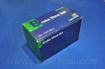 Колодки тормозные барабанные PMC PLA-007