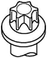 Комплект болтов двигателя с фигурной головкой HBS245