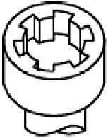 Комплект болтов двигателя с фигурной головкой HBS353