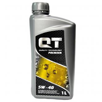 Масло моторное 5w40 SN / CF (Германия, QT-OIL) 1л. QT1405401