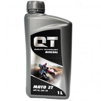 Моторное масло QT-Oil Mineral 2T TC, 1л QT1520001