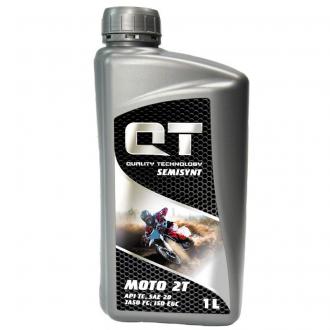 Моторное масло QT-Oil Semisynt 2T TC, 1л QT1621001