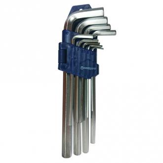 Ключи шестигранные удлиненные 9ед. СТАНДАРТ HKS0902