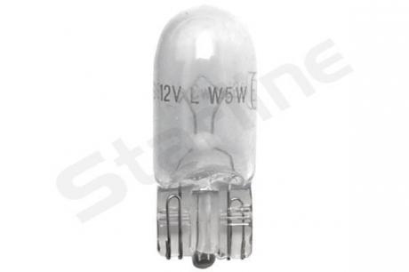 Автомобильная лампа: 12 [В] W5W/12V цоколь W2.1x9.5d - безцокольная 99.99.997