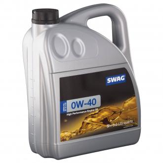 Моторное масло синтетическое д/авто SAE 0W40 5L 30101142