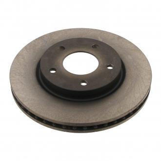 Тормозной диск вентилируемый передний 80931275