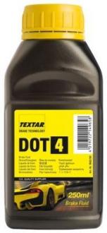 Тормозная жидкость 0.250л (DOT 4) TEXTAR 95002100