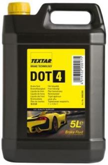 Тормозная жидкость 5л (DOT 4) TEXTAR 95002300