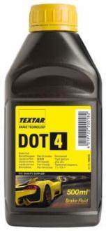 Тормозная жидкость 0.5л (DOT 4) TEXTAR 95002400