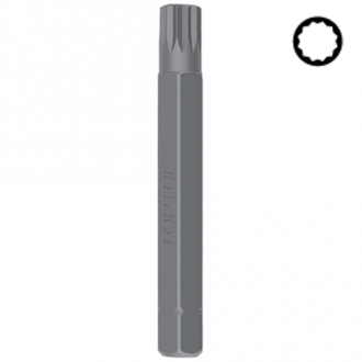 Бита SPLINE TOPTUL 10мм L-75мм M8 FSFB1208