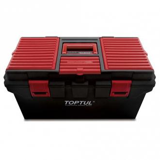 Ящик для инструмента 4 секции (пластик) 556(L)x278(W)x270(H)mm TBAE0401